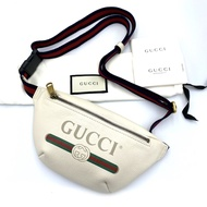 Brandbyday Used like new gucci belt bag mini สีขาว