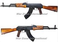 WZ GHK AKM 實木全金屬鋼製瓦斯槍 GBB