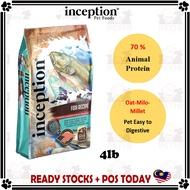 Inception Fish Recipe Dog Dry Food Dog Food Pet Food 4lb