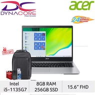 """【*24-HR DELIVERY】ACER Aspire 3 A315-58-55S3 15.6"""" FHD Laptop (i5-1135G7/8GB RAM/256GB SSD/intel Iris Xe/Win10Home)"""