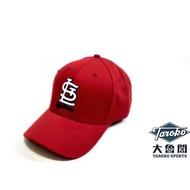 【大魯閣】大聯盟棒球帽 MLB棒球帽 聖路易紅雀隊球迷帽 St. Louis Cardinals棒球帽(可調式)