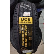 205/60R16 Continental ultracontact 6 UC6 tyre