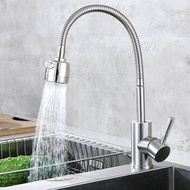 Kitchen faucet sink hot and cold sink 304 stainless steel rotating sink faucet