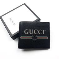 Gucci fold wallet men black