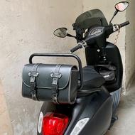 vespa偉士牌改裝GTS300 GTV 春天150  衝刺150後備掛包皮箱車頭掛包置物包