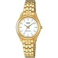 Casio นาฬิกาข้อมือผู้หญิง สายสแตนเลส รุ่น LTP-1129 ของแท้ประกันศูนย์