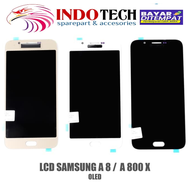 LCD+TOUCHSCREEN TS SAMSUNG A8 2015 A800X A800F-OLED