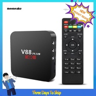V88 Plus智能電視RK3229四核機頂盒1 + 8G Miracast WiFi for Android 7.1