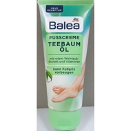 德國 Balea Teebaumol Fusscreme 茶樹精油護腳霜