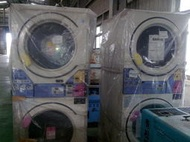 日本sanyo三洋-投幣式雙槽烘衣機,商業/營業用,自動乾燥烘衣機