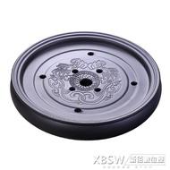 潮汕紫砂陶瓷干泡臺功夫茶具大號茶盤家用客廳儲水式簡約茶海茶托