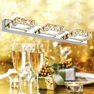 鏡前燈 led衛生間鏡櫃浴室現代簡約洗手間壁燈防水防霧鏡燈飾燈具  名購居家  ATF