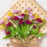 Hiasan hiasan anyaman buluh anyaman tanaman hiasan bunga simulasi hiasan dinding hiasan dinding hiasan dinding hiasan ru