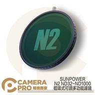 ◎相機專家◎ SUNPOWER N2 ND32~ND1000 磁吸式 可調多功能濾鏡 ND鏡 減光鏡 公司貨