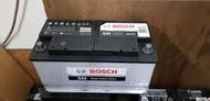 (八德中古電池) BOSCH 60038 DIN100 歐規100AH 汽車電池 數值漂亮,品項優 歐系車專用