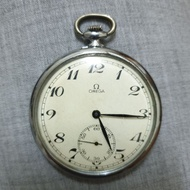 OMEGA 台鐵機械懷錶 57年製造古董