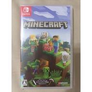 全新未拆 Nintendo Switch NS 我的世界 當個創世神 Minecraft 日版 中文對應