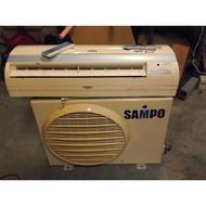 【尚典中古家具】中古空調(二手冷氣)聲寶分離式冷氣(1噸)(1對1)(220V)(2005年)(不含安裝)
