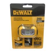 景鴻五金 公司貨 DEWALT 得偉 DWHT81424 防水防塵 高亮度頭燈 200流明 LED頭燈 工作燈 含稅價