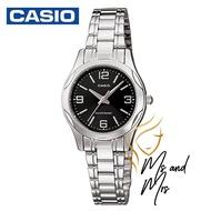 Casio Standard นาฬิกาข้อมือผู้หญิง สายสแตนเลส รุ่น LTP-1275D