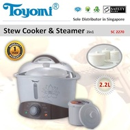 Toyomi SC 2270 Stew Cooker and Steamer 2.2L