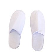 Disposable Waffle Fabric White Slipper/ Hotel Slipper / Homestay Slipper / Travel Slipper / Room Slipper/ Indoor Slipper
