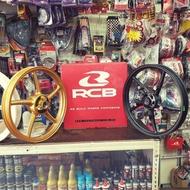 RACING BOY RCB SPORT RIM SP522 SUZUKI BELANG/SATRIA GOLD&MATT BLACK 100%ORIGINAL RCB