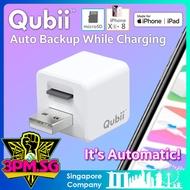 Qubii USB Flash Drive Auto Backup Apple iPhone Xs XR iPad iOS 64GB 128GB 256GB 400GB Lightning OTG