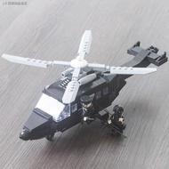 ❍✤☸特警積木裝甲車直升機樂高軍事拼裝城市警察局系列男孩玩具飛機