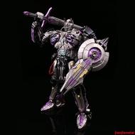 【彩虹屋】UT變形玩具金剛R-02B電影5擎天騎士柱 司令官 暗黑版  紫色挑戰者