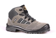 KPR Safety Shoes Sport grey M-027G(mid cut lace up) *FREE SHIPPING BY QXPRESS*