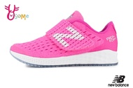 New Balance 飛機鞋 亮眼顯色 中童 寬楦 運動鞋 O8490#粉紅◆OSOME奧森鞋業