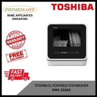TOSHIBA DWS-22ASG MINI 5L PORTABLE DISHWASHER * BEST SELLER * FAST DELIVERY