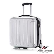 法國奧莉薇閣 18吋行李箱 登機箱 PC電腦商務旅行箱 城市新貴(銀色)