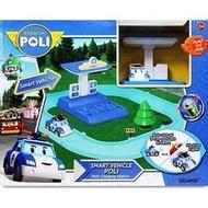 COSTCO好市多代購~POLI 波力 電動車與充電站遊戲組(電動車可至充電站充電)