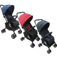 英國JOLLY Pally Buggy嬰兒手推車/登機推車/背包車 (內附前扶手/肩背帶/收納袋)