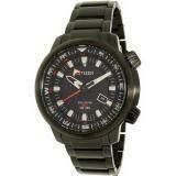 Karnvera Shop นาฬิกาข้อมือผู้ชาย Citizen Eco-Drive Men Watch Power Reserve GMT 200M BJ7085-50E