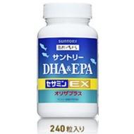 ✔現貨特賣✔三得利魚油 DHA&EPA+芝麻明E/EX 60日份(240顆) 瓶裝/隨身包