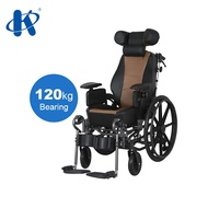 (Wenkang)adjustable and detachable headrest Wheelchair adjustable seat and backrest cerebral palsy chairs Wheelchair for children