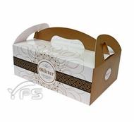 4K手提餐盒 (麵包紙盒/野餐盒/速食外帶盒/點心盒)【裕發興包裝】