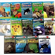 I can read 14 books (L1 Ranger Rick 8 books and L2 Amazing 6 books) English book for kids