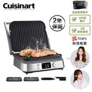 【Cuisinart美膳雅】數位面板溫控不沾電烤盤(GR-5NTW)