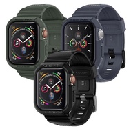 【Spigen】Apple Watch Series 6/5/4/SE Rugged Armor Pro-防摔保護殼專業版(SGP 三色 44mm)