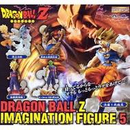 BANDAI 轉蛋七龍珠Z 映像場景印象 IMAGINATION FIGURE 5代 一套全5種