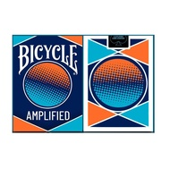 1 deck Bicycle AMPLIFIED Playing Cards Magic Cards Paper Magic Category Poker Cards for Magician Collection