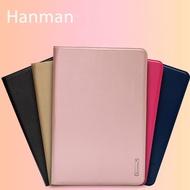 【Hanman】Apple iPad 2017版 5代 9.7吋 真皮皮套/翻頁式側掀保護套/側開插卡平板套/A1822/A1823-ZW