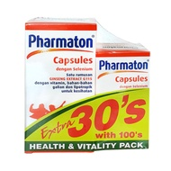 Pharmaton Capsule 100s + 30s | Multivitamin & Minerals with Ginseng Extract