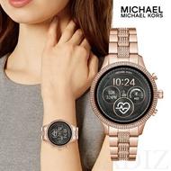 現貨 美國正品 Michael Kors 水鑽玫瑰金智慧錶 Access Runway smartwatch MKT5052