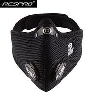 英國 RESPRO ULTRALIGHT MASK [極輕透氣系列] 防PM2.5 口罩 黑色