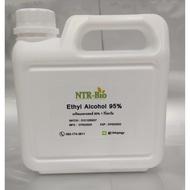 เอทิลแอลกอฮอล์ 95% Ethyl alcohol 95% ขนาด 1 กก.